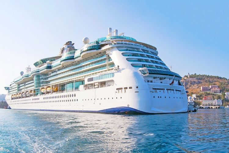 Cruise Ship at Sea-Multigenerational Vacations