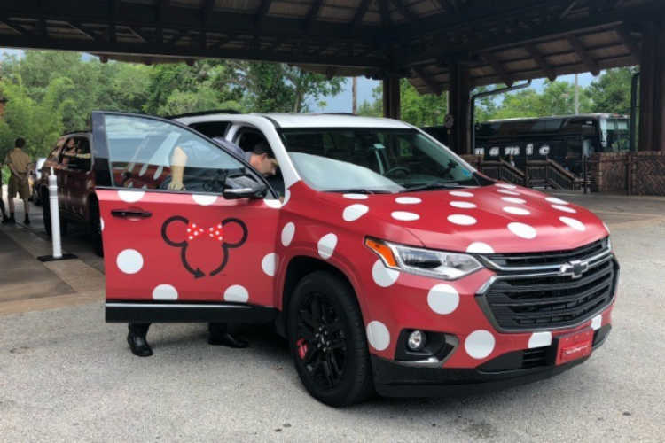 Disney Minnie Van