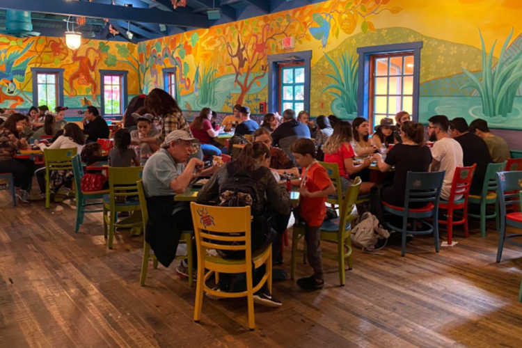 Disney World restaurant