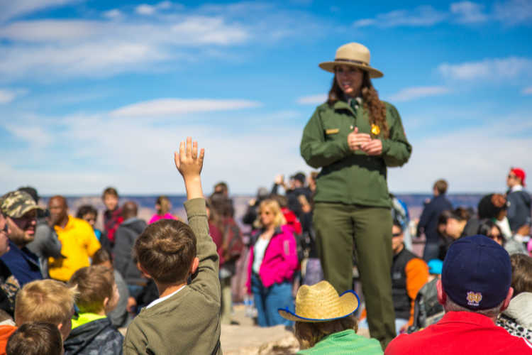 Junior ranger Program national park-Multigenerational Vacations