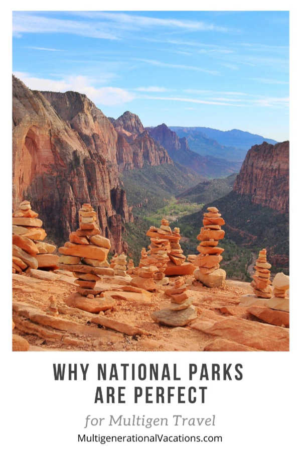 Why National Parks work for Multi-gen Travel