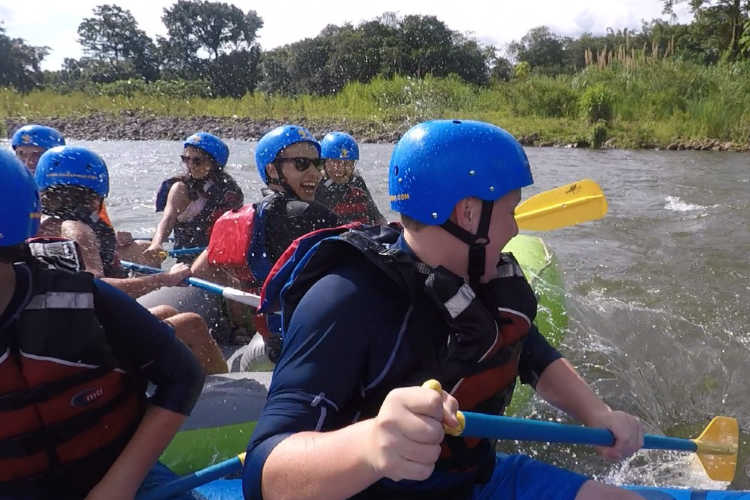 White Water Rafting Sarapiqui Costa Rica-Multigenerational Vacations