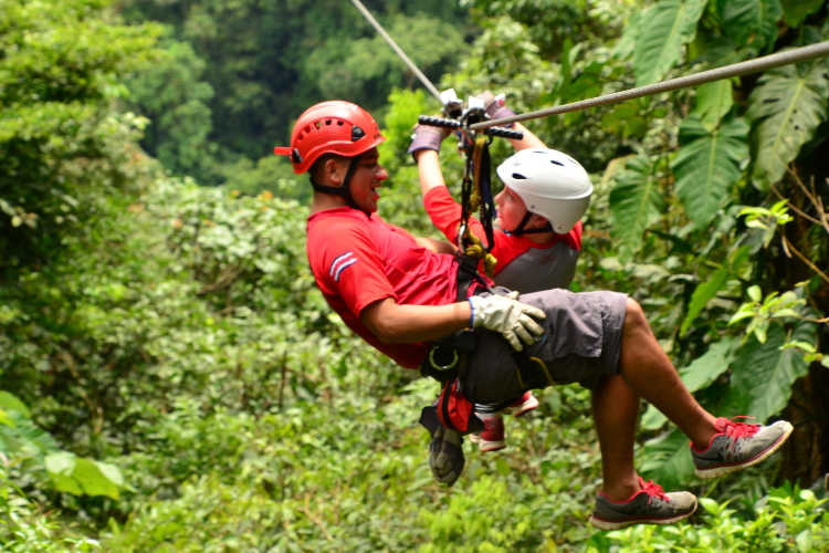 Zip Line Costa Rica Vacation - Multigenerational Vacations