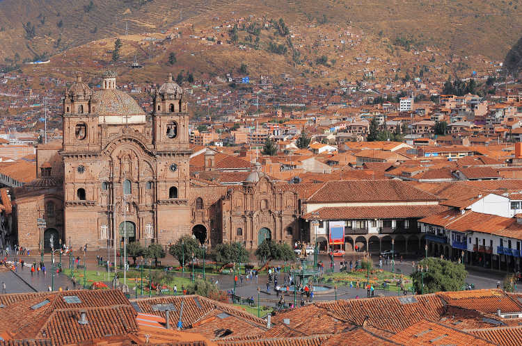 Cusco Peru city view-Kids Are A Trip