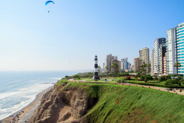 Miraflores Neighborhood Lima Peru-Multigenerational Vacations