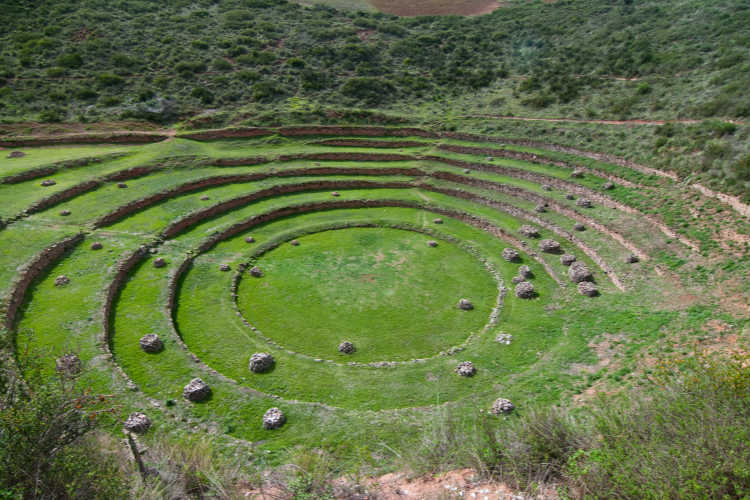 Sacred Valley Inca Agriculture  rings-Multigenerational Vacations