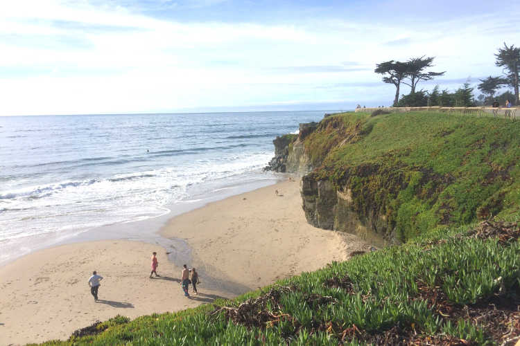 Santa Cruz CA_View from West Cliff Drive