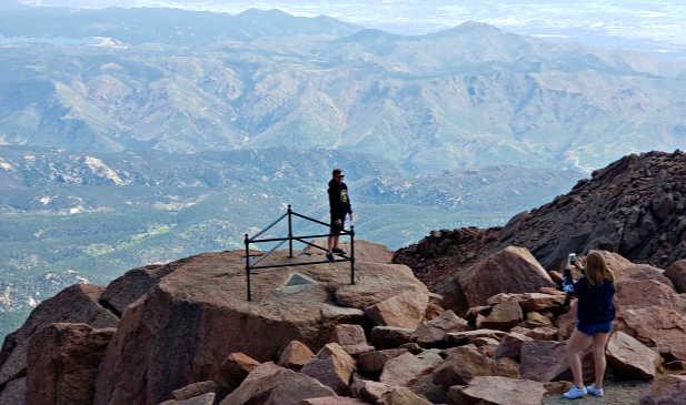 pikes peak summit teen grandkids