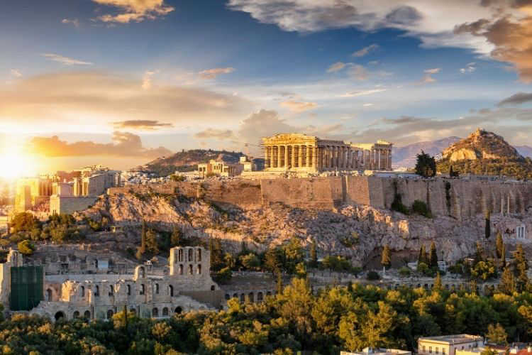 Athens vacation with grandparents-Multigenerational Vacations