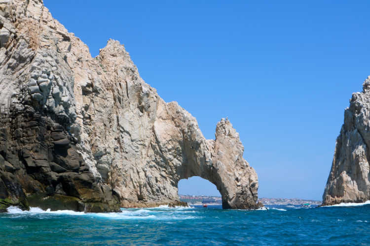 Cabo Arch Mexico with grandparents-Multigenerational Vacations