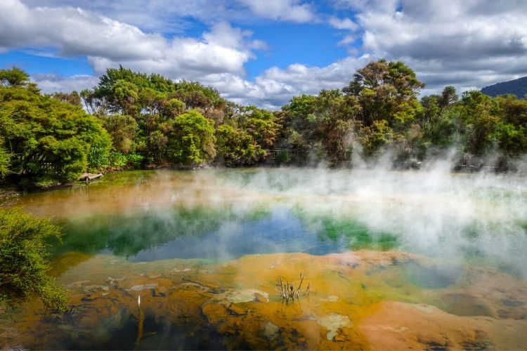 Rotorua New Zealand with grandparents-Multigenerational Vacations