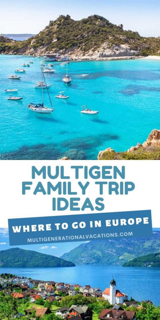 Where to Go in Europe with a Large Family