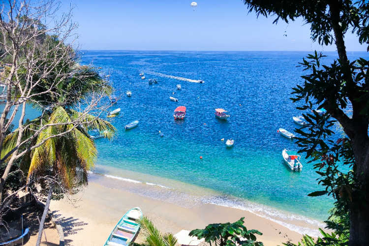 Beaches in Puerto Vallarta Mexico-Multigenerational Vacations