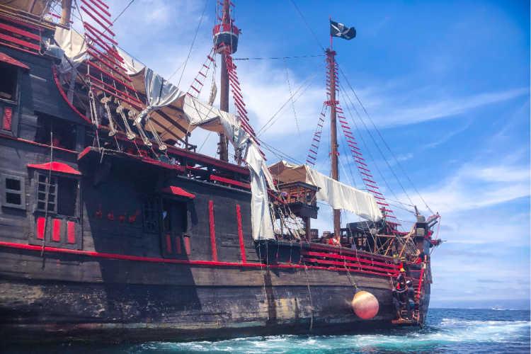 Puerto Vallarta Pirate Ship tour-Multigenerational Vacations