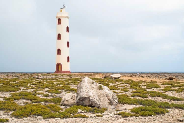 Spelonk Lighthouse Bonaire-Multigenerational Vacations
