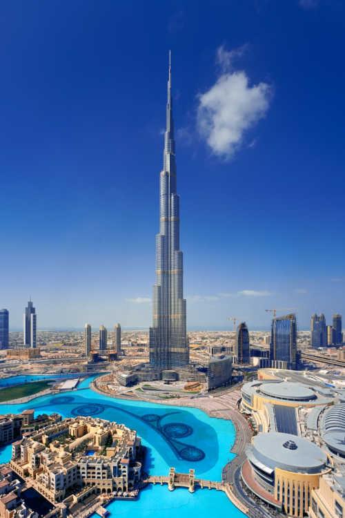 Burj kalifa view Dubai -Kids Are A Trip