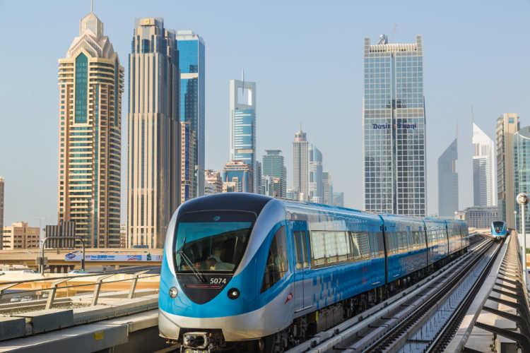 Dubai transportation Metro