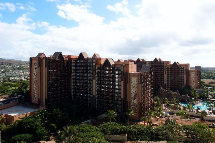 Disney Hawaii Aulani aerial view