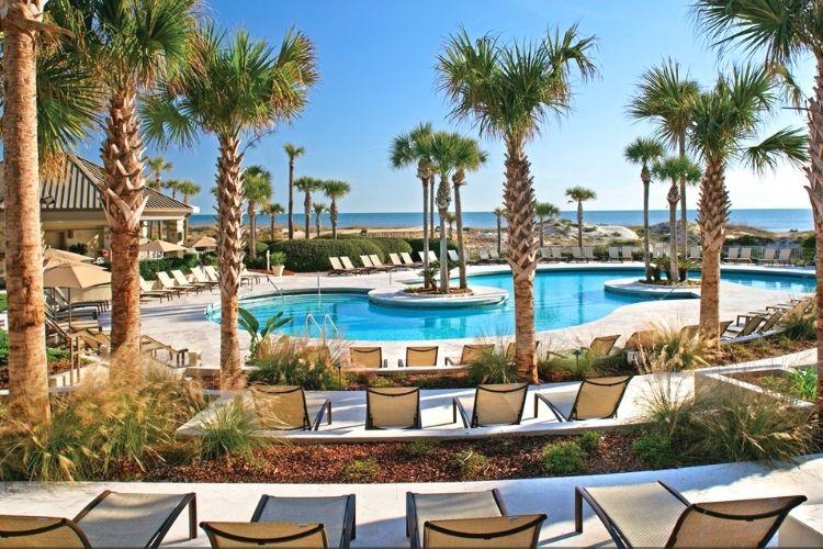 Ritz-Carlton Amelia Island-view of pool and ocean