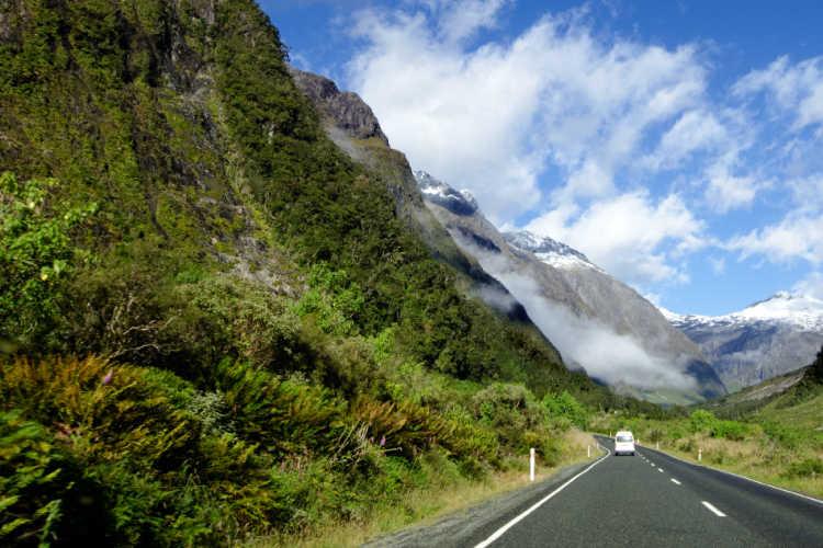 Camper van tour New Zealand