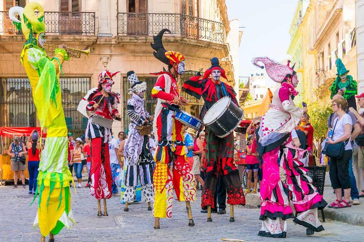 Carnival in Cuba