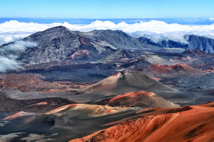 Haleakala Crater in Maui