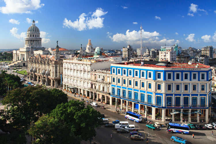 Havana Cuba historic center