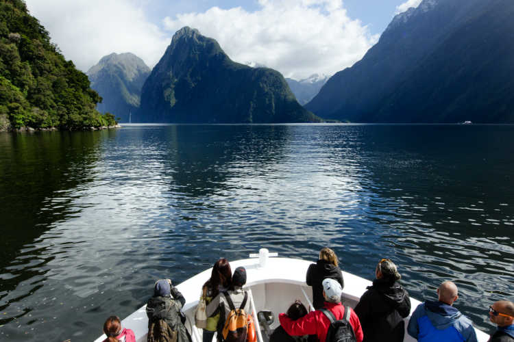 Milford Sound New Zealand family vacation