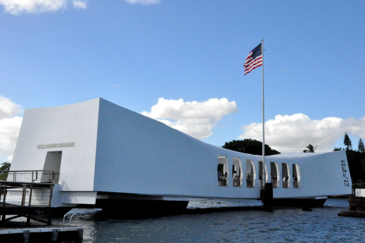 Pearl Harbor USS Arizona Memorial Hawaii