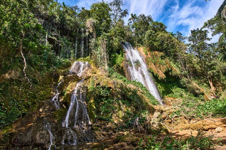 Topes de Collantes waterfall