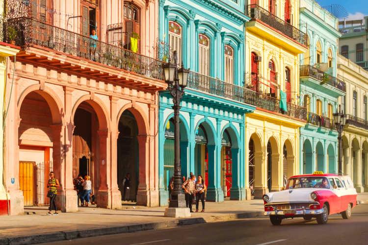 Typical street in Old Havana-Multigenerational Vacations
