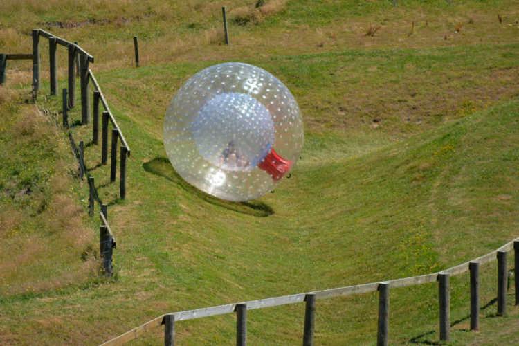 Zorb ball Rotorua