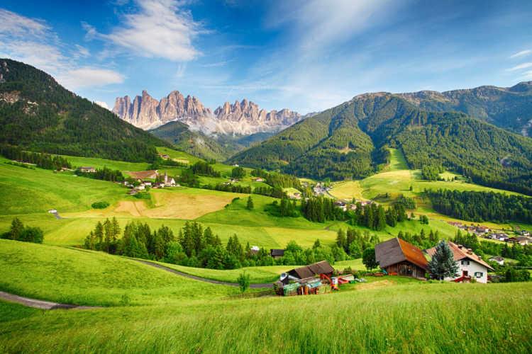 Italy Dolomites Summer