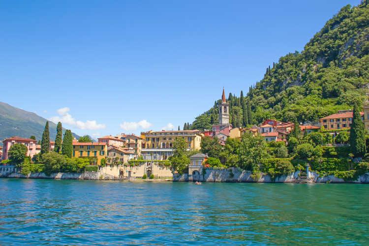 Lake Como Italy family vacation