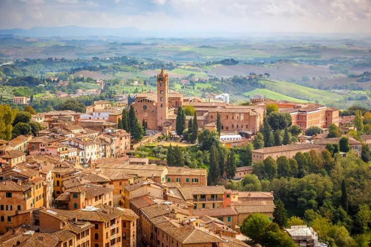 Siena Italy family vacation