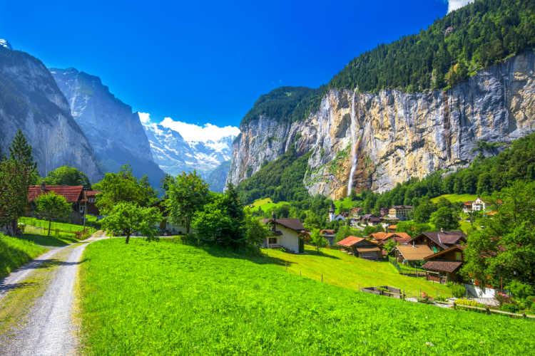 Lauterbrunnen Valley Switzerland